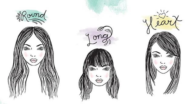 Изберете правилната прическа, която ще ви отива най- много според формата на лицето ви 9