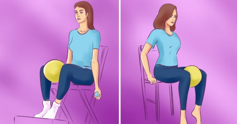 Упражнения за бедрата в домашни условия със стол, намалете обиколката им по най- лесния начин 11