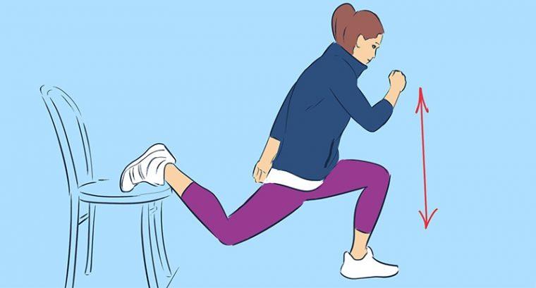 Упражнения за бедрата в домашни условия със стол, намалете обиколката им по най- лесния начин 15
