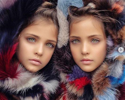 Близначките, смятани за наричани едни от най-красивите момичета на света (СНИМКИ) 55