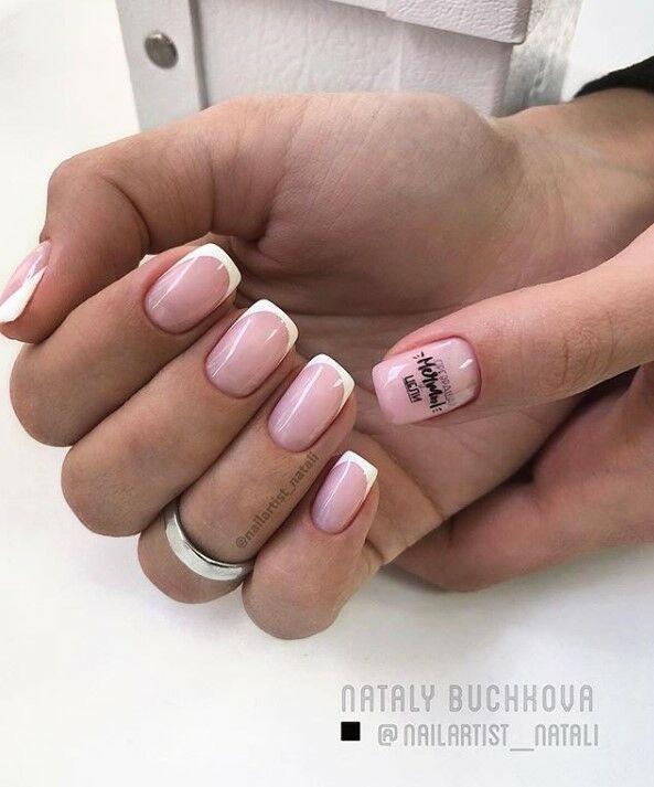 Най-модерните пролетни маникюри за къси нокти през 2019 59