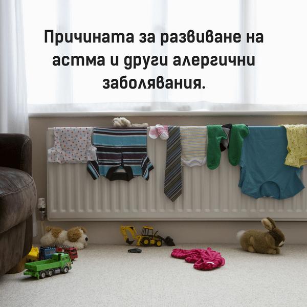 Факти, които доказват защо не трябва да сушите прането вътре в стаята 58