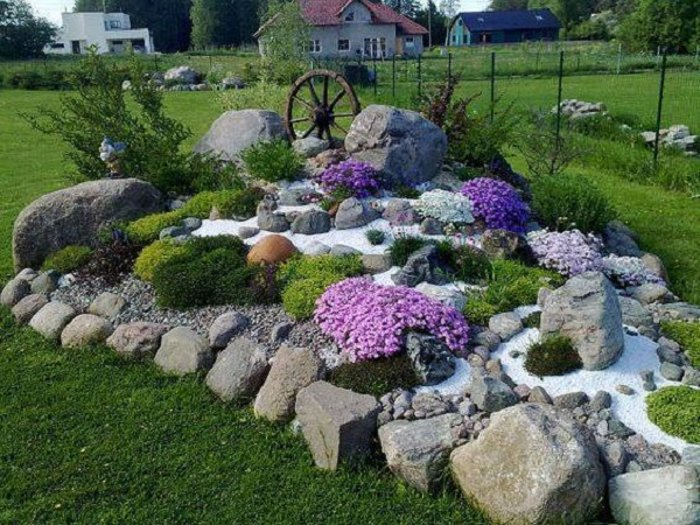 Най-новата мода в двора, е каменната градина - Красота без много усилия (СНИМКИ) 68