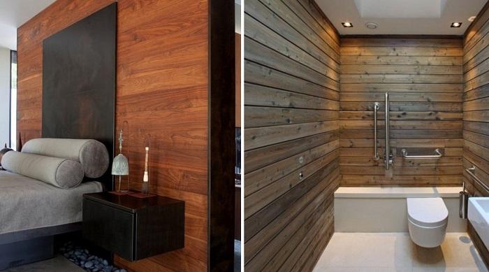 15 Страхони идеи на употребата на ламинат за различни места у дома (СНИМКИ) 64