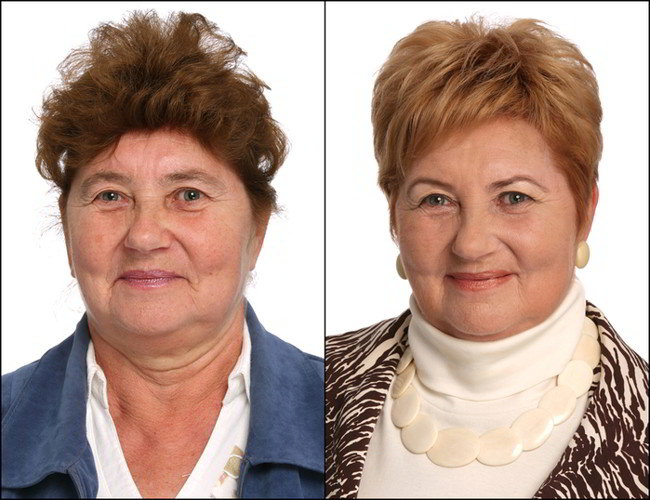 Стилист преобрази няколко жени и ги превърна в неустоими красавици (СНИМКИ) 63