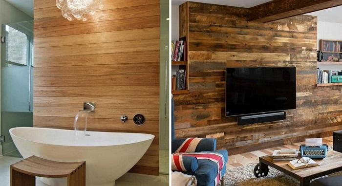 15 Страхони идеи на употребата на ламинат за различни места у дома (СНИМКИ) 66