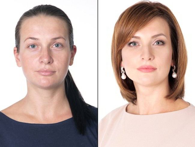 Стилист преобрази няколко жени и ги превърна в неустоими красавици (СНИМКИ) 56