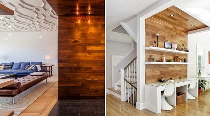 15 Страхони идеи на употребата на ламинат за различни места у дома (СНИМКИ) 57