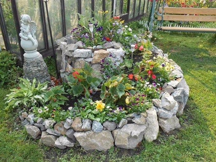 Най-новата мода в двора, е каменната градина - Красота без много усилия (СНИМКИ) 69