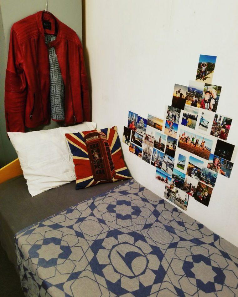 Млад българин сам преобрази стаята в общежитието си в Студентски град (СНИМКИ) 59