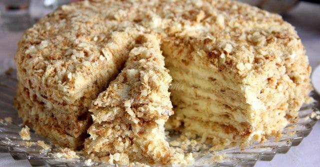 Лесна торта Наполеон 56