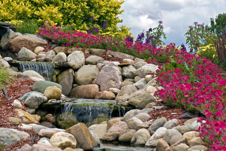 Най-новата мода в двора, е каменната градина - Красота без много усилия (СНИМКИ) 62