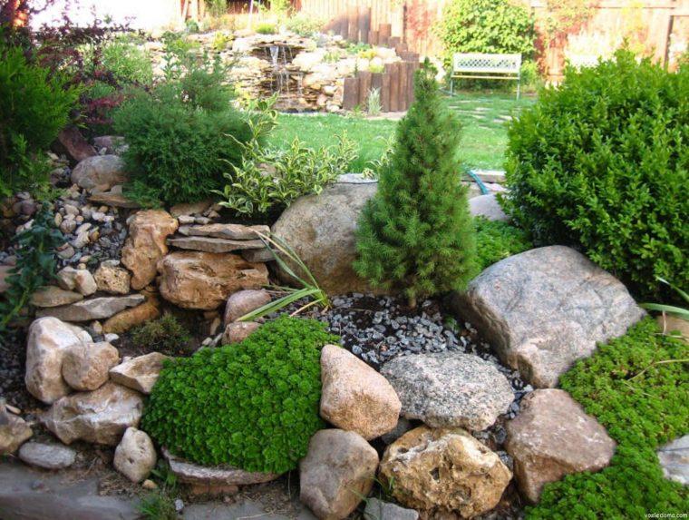 Най-новата мода в двора, е каменната градина - Красота без много усилия (СНИМКИ) 59