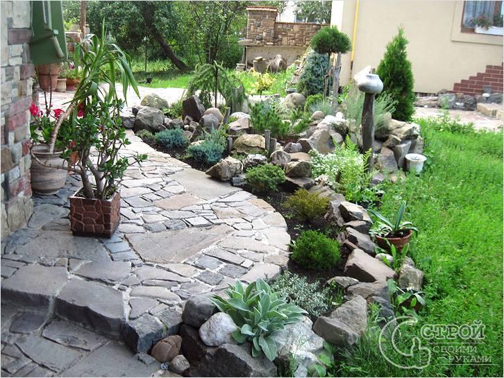 Най-новата мода в двора, е каменната градина - Красота без много усилия (СНИМКИ) 56