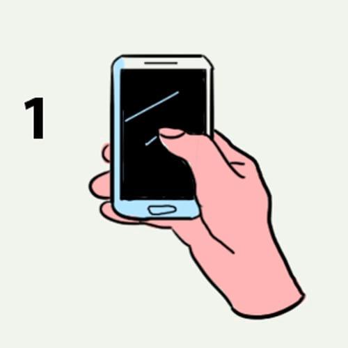 Споделете, как държите мобилния и ще ти кажем коя е най-характерната ти черта - 99% вярно е 9