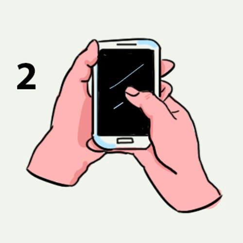 Споделете, как държите мобилния и ще ти кажем коя е най-характерната ти черта - 99% вярно е 10
