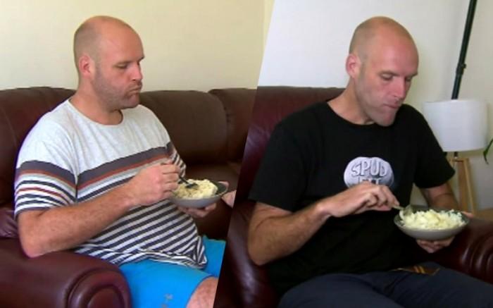 Мъж започна да яде само картофи и свали 45 кг 57