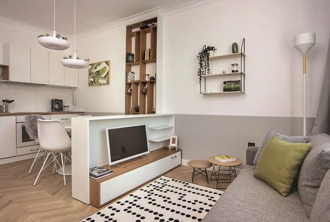 Български интериор на малко жилище класиран сред най-добрите на света 56