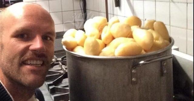 Мъж започна да яде само картофи и свали 45 кг 56
