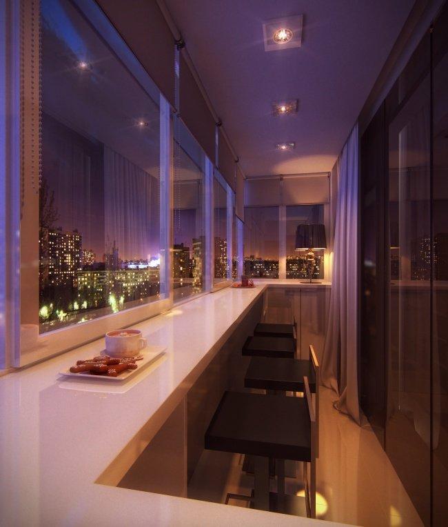 Дори най-малката тераса може да се превърне в любимо място в апартамента: 12 балкона (СНИМКИ) 54