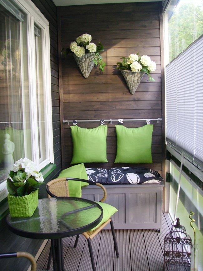 Дори най-малката тераса може да се превърне в любимо място в апартамента: 12 балкона (СНИМКИ) 58