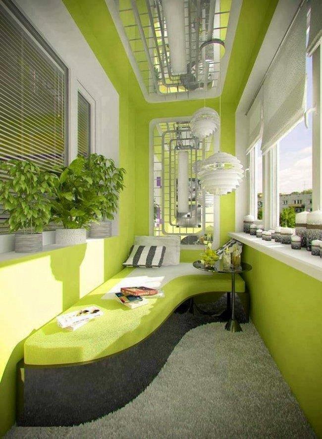 Дори най-малката тераса може да се превърне в любимо място в апартамента: 12 балкона (СНИМКИ) 59