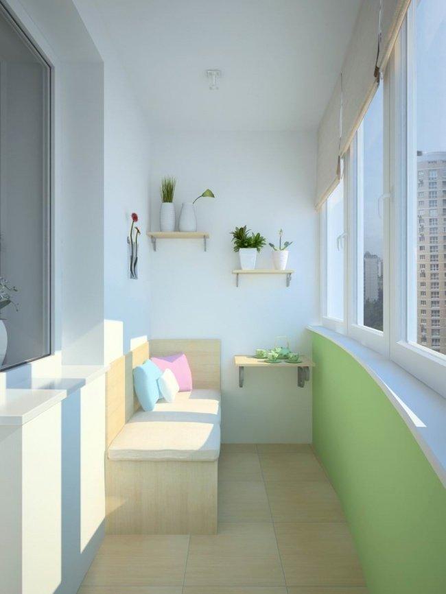 Дори най-малката тераса може да се превърне в любимо място в апартамента: 12 балкона (СНИМКИ) 63