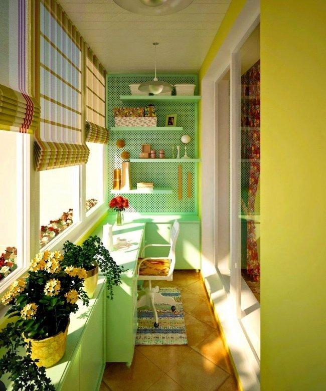 Дори най-малката тераса може да се превърне в любимо място в апартамента: 12 балкона (СНИМКИ) 65