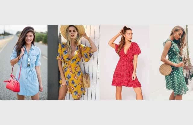 """Модата на 2019 - Рокля от типа """"прегърни ме"""" (СНИМКИ) 58"""
