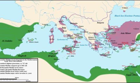 За времето, когато хан Тервел спаси Цариград 58
