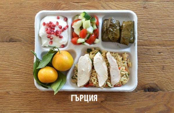 Как изглежда училищният обяд в различните държави 57