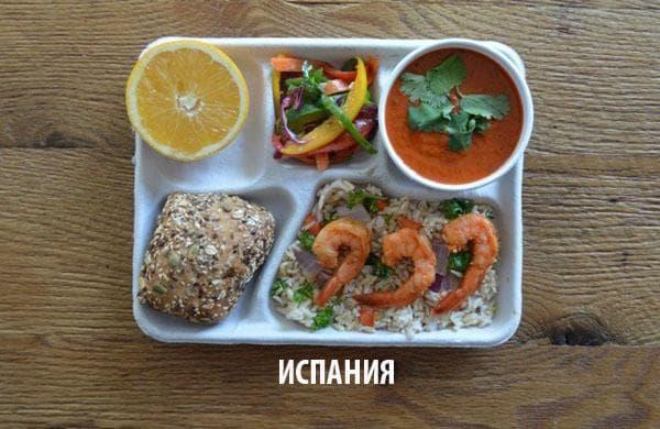 Как изглежда училищният обяд в различните държави 59