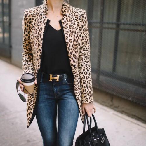леопардово сако