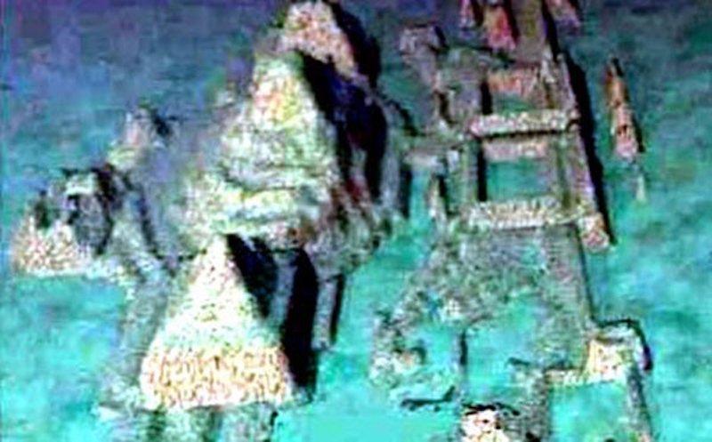 Какво се е случило с подводния град с пирамиди до Куба?