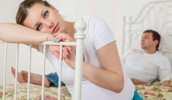 Причина са кодоспад може да е бременността