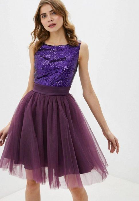 рокля тюл